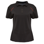 Women's Polo With Contrasting Color Piping