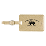 Metallic Luggage Tag