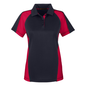 Harriton Ladies' Advantage Snag Protection Plus IL Colorblock Polo